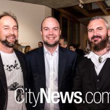 Ian Laslett, David Moore and Patrick McKenna