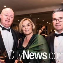 James Lawton, Rebecca Curran and Jamie Ronald
