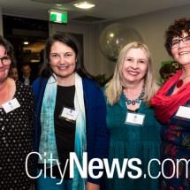 Jane Tong, Helen Ferrara, Nicola Read and Marie-Louise Williams