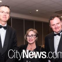Justice David Mossop, Karen Frybar and Steve Whybrow