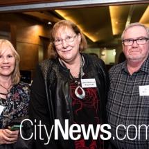 Leanne Porteils with Julie and Glenn Weymouth
