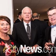 Lorraine Walker, Ken Cush and John Gillespie