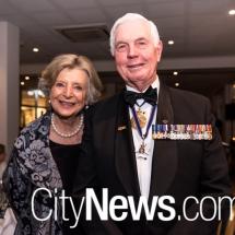Marlena Jeffery and Maj-Gen Michael Jeffery
