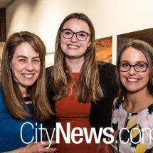 Sally McGuinness, Margot McCabe and Ashleigh Tilbrook