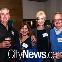 Tom Haalebos, Maria Kitic, and Jenny and Mick McReynolds