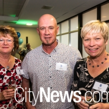 Yvonne Hutchings, Paul Cartwright and Meredith Skein