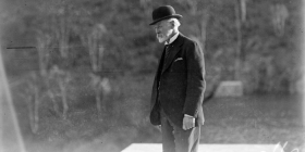 Australia's sixth prime minister Sir Joseph Cook pictured in 1927… diligent and scrupulously loyal but came across as plodding and humourless. Image: National Archives of Australia