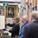 An open-day visit to the Parliament House art store.
