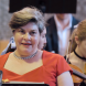 Sinfonia parton and soprano Louise Page... an affecting emotional performance. Photo by Peter Hislop