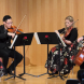 The debut performance of the Grevillea Quartet. Photo by Peter Hislop