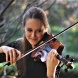 Grace Clifford on violin
