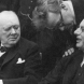 Australian politician Prime Minister John Curtin, right, with British Prime Minister Winston Churchill and British politician Herbert Morrison in 1944.