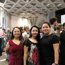 Massiel and Mayerlin Romero with Yvonne Parkee