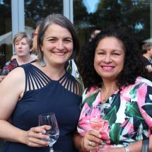 Naomi Gould and Iris Elgueta