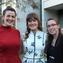 Olivia Sparrow, Laura Pierce and Kali Wunsch