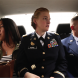"""TransMilitary"" looks at four individuals coming out as transgender to top brass officials in the Pentagon… from left Cpl Laila Villanueva, Capt Jennifer Peace and Senior Airman Logan Ireland."