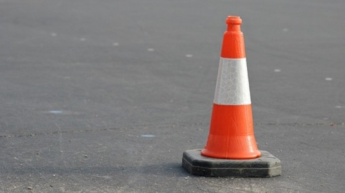 Sutton Road resurfacing slows traffic