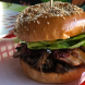 """""""Betti's Got Beef""""... The shredded beef brisket was tender ($16, no chips) and the bun packed with bacon and pineapple. Photo by Wendy Johnson"""