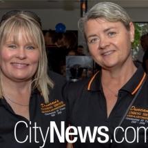 Christine Bates & Vicki Ferrett