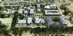 Development scenario for Dickson Parklands.
