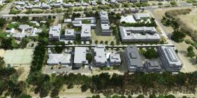 Development scenario for Dickson Parklands.