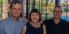 Ian McNeil, Georgia McNeil and Malcolm Thomson