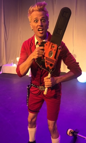 "review / ""Wham Glam Circus Man"", Warehouse Circus, Belconnen Community Theatre until November 10. Reviewed by JOHN LOMBARD."