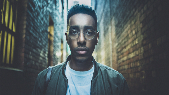 """Rapper Oddisee… """"His music is quite soulful."""" Photo by Michelle G Hunder"""