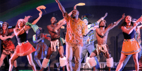 """Madiba the Musical""... ""We want people to see the serious side, but to leave on an upbeat note"", says Perci Moeketsi."