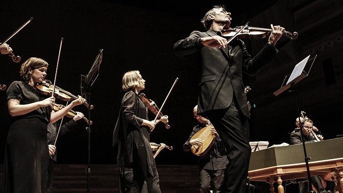 Richard Tognetti with the ACO,. Photo by Julian Kingma