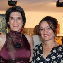 Sabine Pagan and Sarah Murphy
