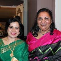 Shameem Sherieff and Usha Sriram-Prasad
