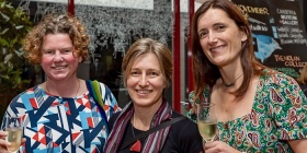 Ursula Fredarick, Katie Hayne and Maria Dolan