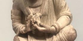The 'bodhisattva' figure