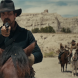 "Christian Bale as Blocker in ""Hostiles""."
