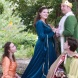 CN April Hand as Hand Maiden, Alexx McPherson as Winnifred, Isaac Edward and Dauntless, Elliot Cleaves as The Minstrel (1)
