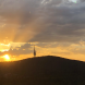 The panoramic views are unlike anything else in Canberra, so it's worth a trip just to watch the sunset. Photo: Wendy Johnson