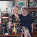 "Filmmaker Marisa Martin and her writer mum Geraldine Martin… ""We usually sit and we chat and mum goes off and writes it."" Photo: Holly Treadaway"