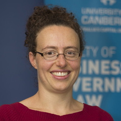 Prof Lorana Bartels of the University of Canberra