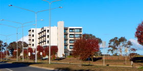 The Common Ground complex in Gungahlin. Photo: Paul Costigan