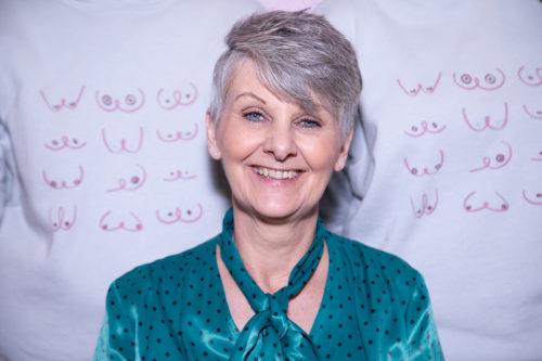Owner of Colleen's Lingerie and Swimwear - Gillian Horton.