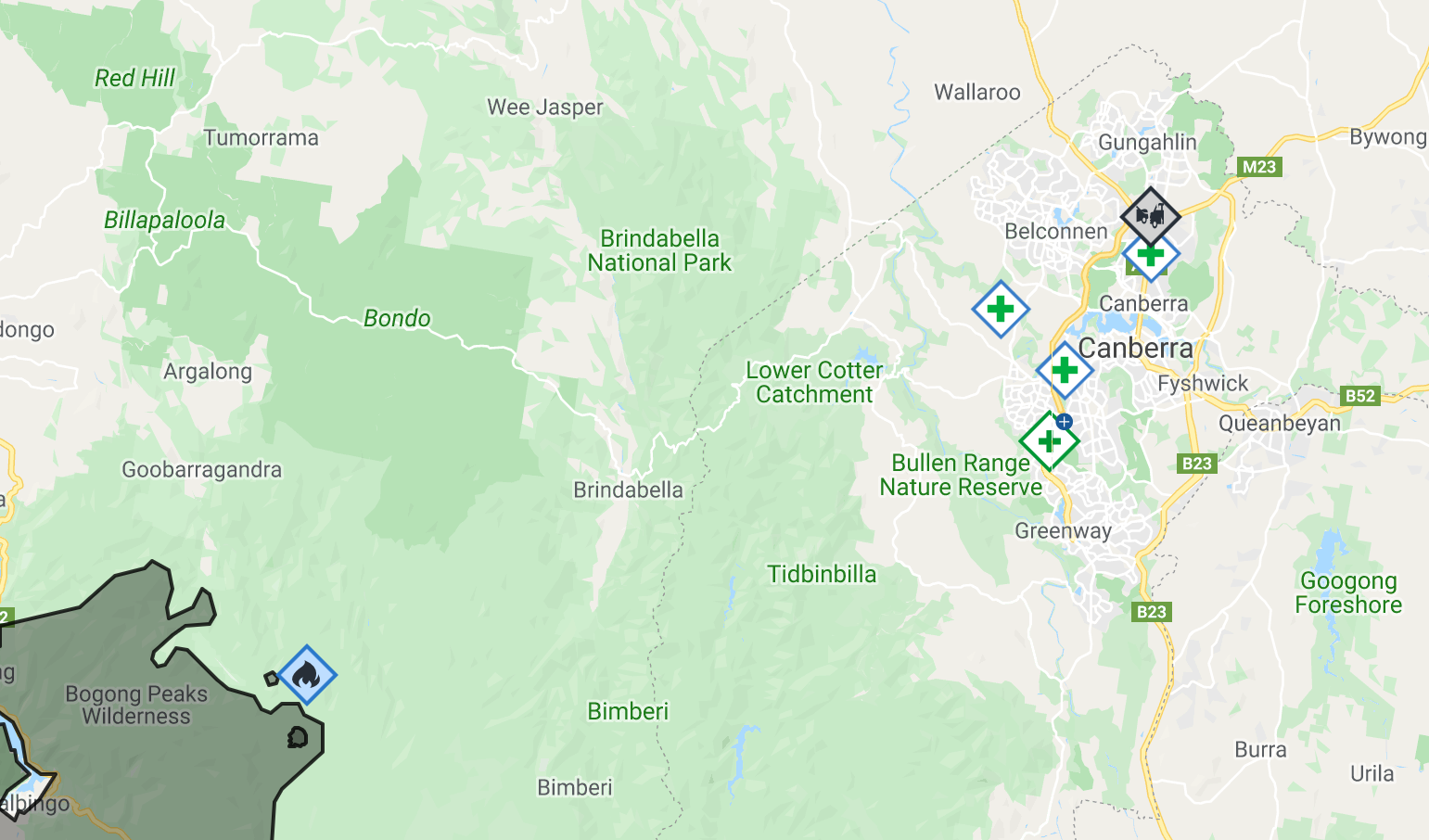 Hundreds fighting to keep fire from ACT border | Canberra ...