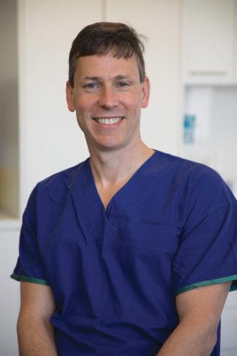 Orthopaedic Surgeon Dr Phil Aubin.