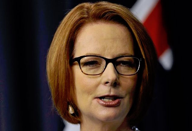 Julia Gillard Wutrede
