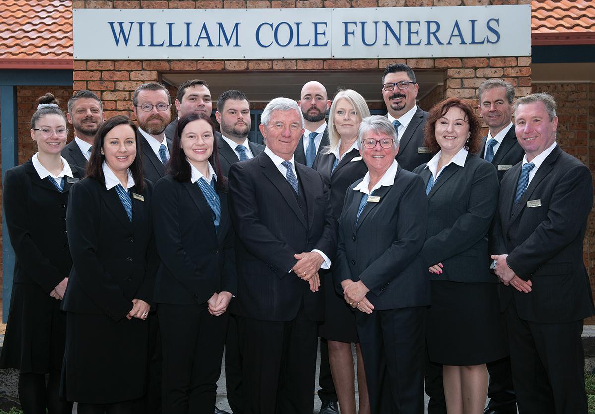 William Cole Funerals staff
