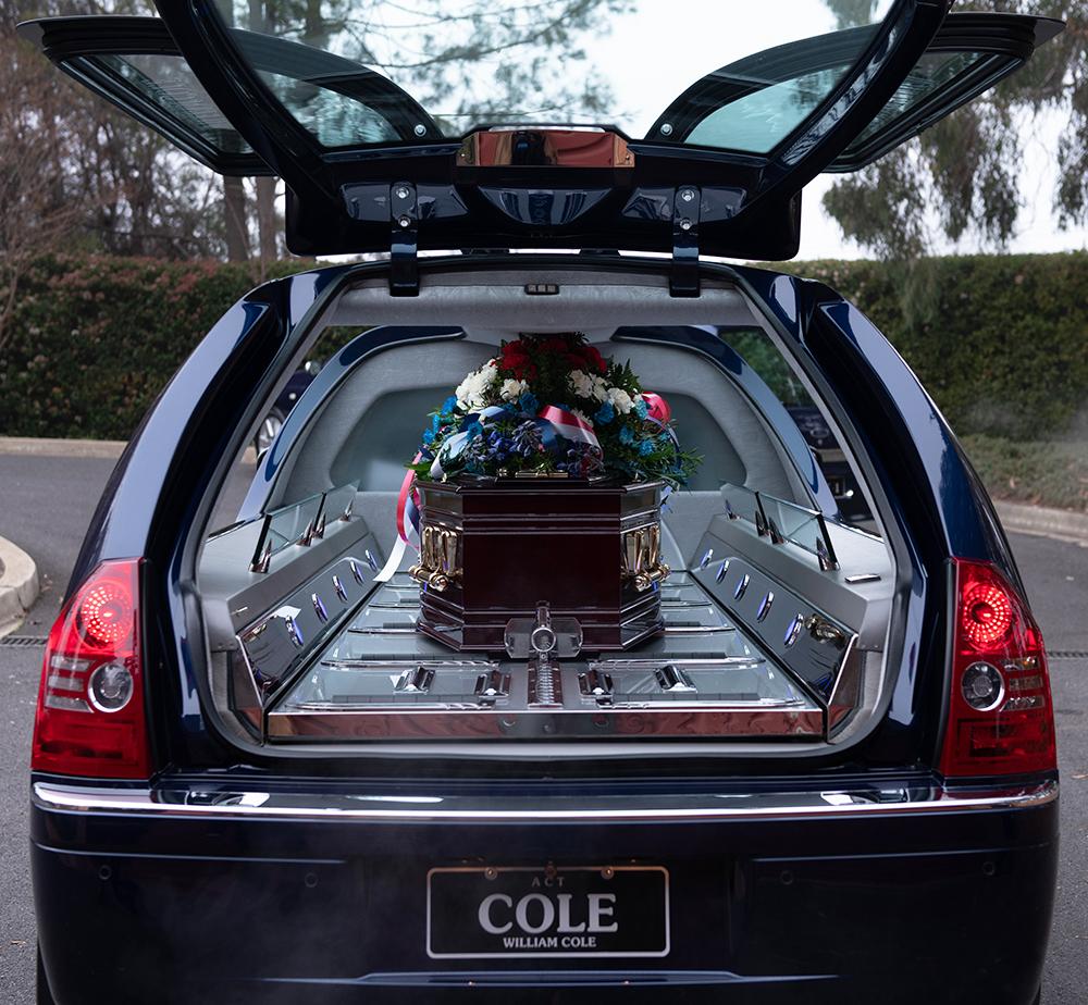 William Cole hearse