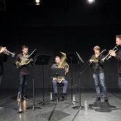 Golden Gate Brass Quintet. Photo Peter Hislop
