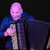 James Crabb on accordion. Photo Peter Hislop