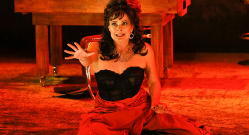 Fiery gypsy 'Carmen' is nothing new for Hogan